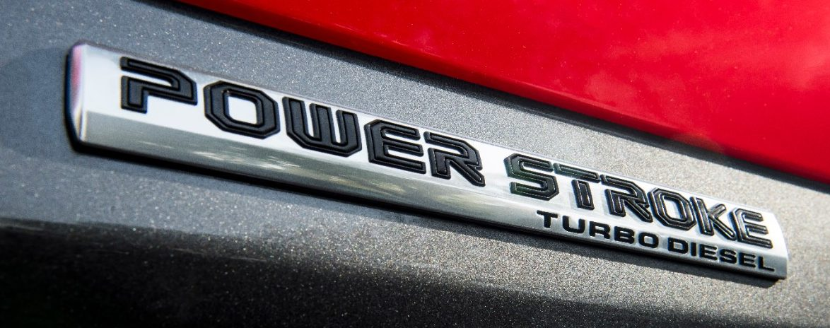 Ford Power Stroke Badge Emblem