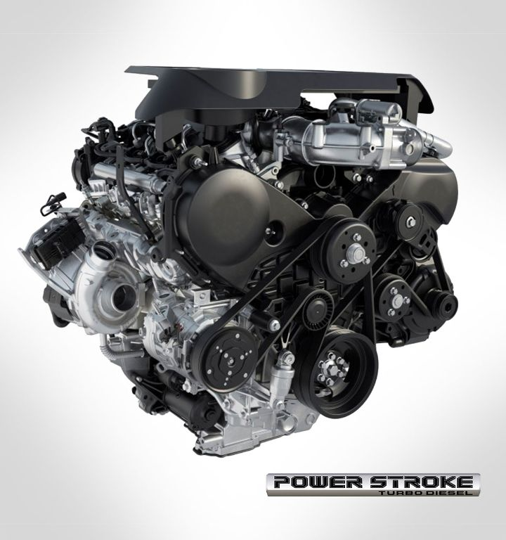 3.0L V6 Power Stroke Engine